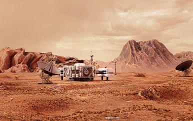Kolonizacija Marsa (Ilustracija: Getty)