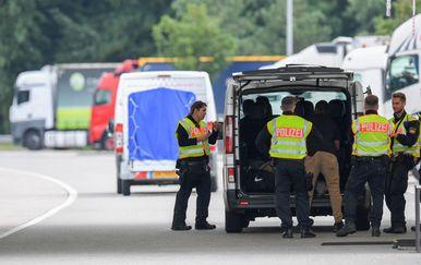 Njemačka intenzivira granične kontrole (Foto: AFP)