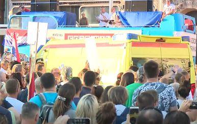 Hitna pomoć na Festivalu slobode
