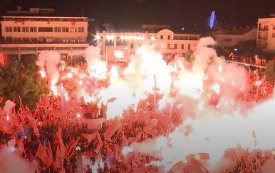 Veliki prosvjed u Crnoj Gori - 4