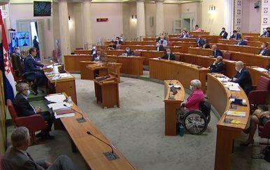 Glasanje u Saboru u posebnim okolnostima