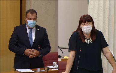 Maja Grba Bujević postavlja pitanje Viliju Berošu