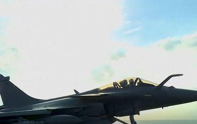 Borbeni avion, ilustracija - 2