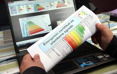 Energetski certifikat - 1
