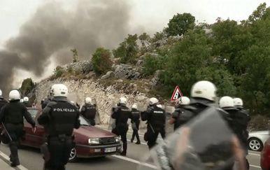 Neredi u Crnoj Gori - 1