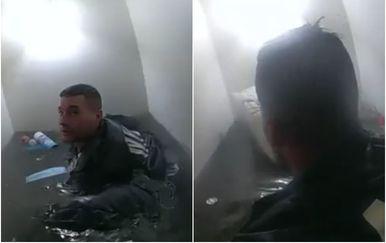 Policija u New Yorku pokušava spasiti obitelj iz podrumskog stana