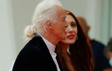 Jimmy Page i Scarlett Sabet