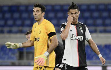 Gianluigi Buffon i Cristiano Ronaldo