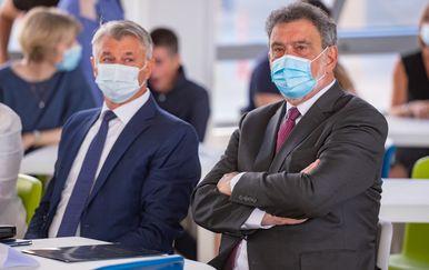 Ministar Fuchs na otvorenju nove zgrade OŠ Voštarnica - 1