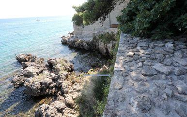 Gradske zidine na Krku - 1
