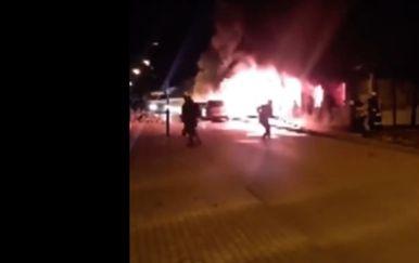 Požar u bolnici u Tetovu