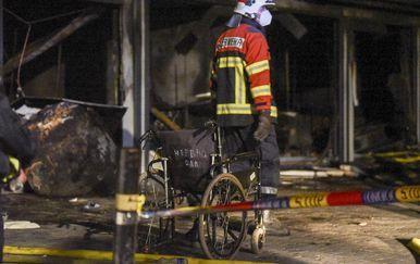 Požar COVID bolnice u Makedoniji - 5
