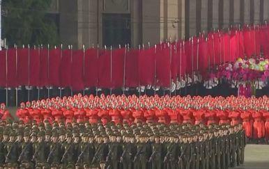 Vojna parada u Sjevernoj Koreji - 1