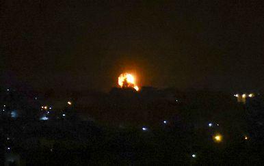 Izraelski zračni napadi na Hamasove lokacije - 1