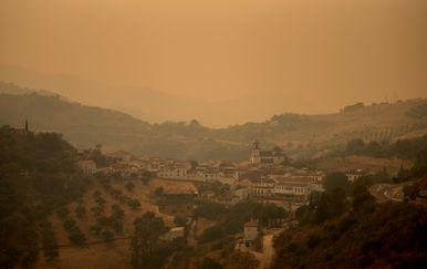 Požar blizu Malage