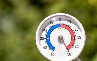 Ekstremne temperature, ilustracija
