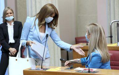 Sabina Glasovac i Mirela Ahmetović