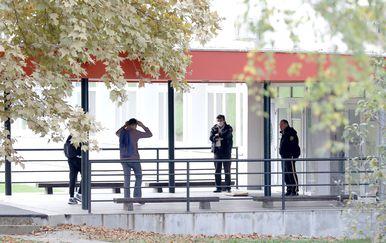 Nastavlja se prosvjed ispred škole u Krapinskim Toplicama