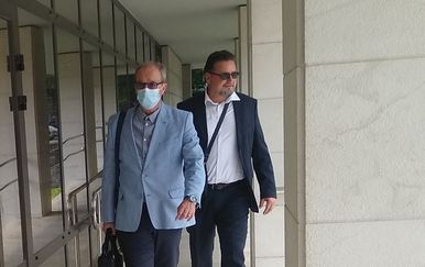 Lovro Kuščević na sudu