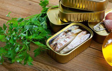 Riba u konzervi, ilustracija