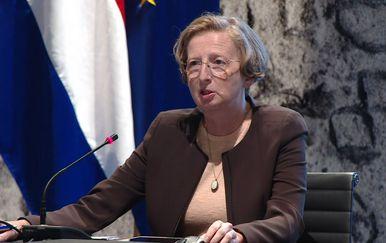 Alemka Markotić, ravnateljica Klinike za infektivne bolesti \