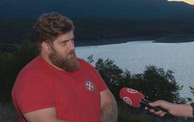 Ante Jukić iz Hrvatske gorske službe spašavanja Split