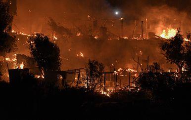 Požar hara Grčkom - 1