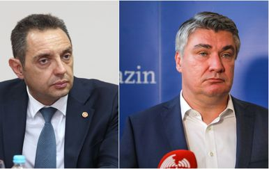Aleksandar Vulin i Zoran Milanović