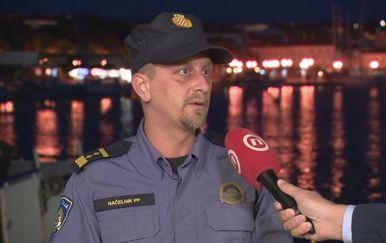 Dejan Hriljac, načelnik Policijske postaje Krk