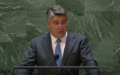 Govor predsjednika Milanović na Općoj skupštini UN-a