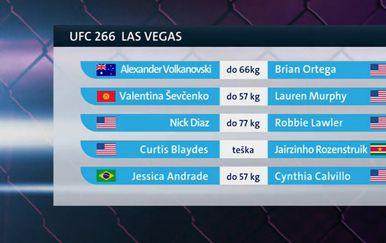 UFC 266 Las Vegas
