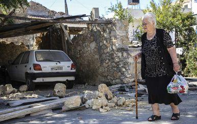 Snažan potres u Grčkoj