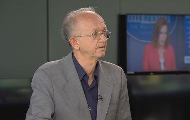 Zoran Kurelić u studiju Dnevnika Nove TV - 1