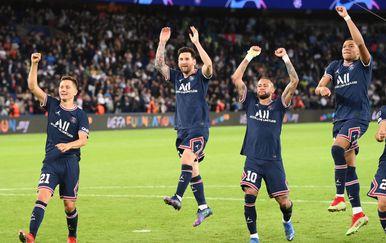 Lionel Messi, Neymar i Kylian Mbappe