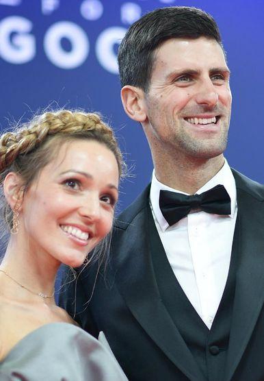 Jelena i Novak Đoković na dodjeli nagrada Laureus
