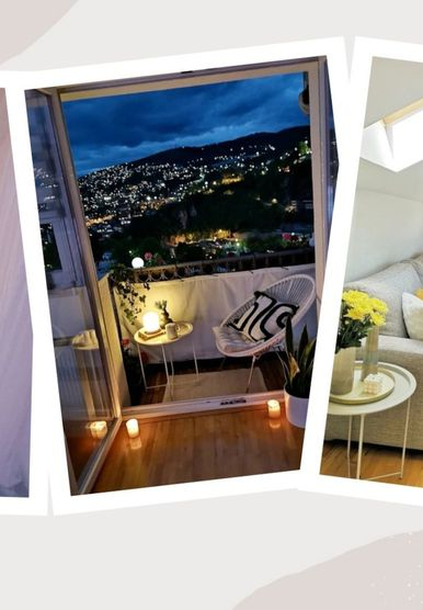 Stan u potkrovlju s dva balkona i pogledom na Sarajevo koji oduzima dah - 11