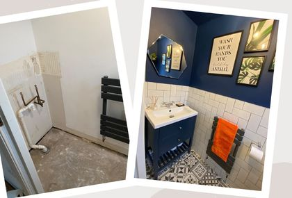 Mladi par sam je preuredio svoj stan u Engelskoj