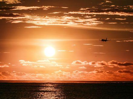 Avion u zraku