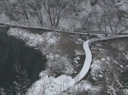Snijeg na Plitvičkim jezerima - 3