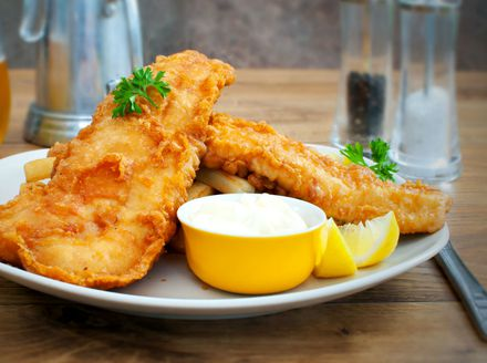 Hrskava pohana riba