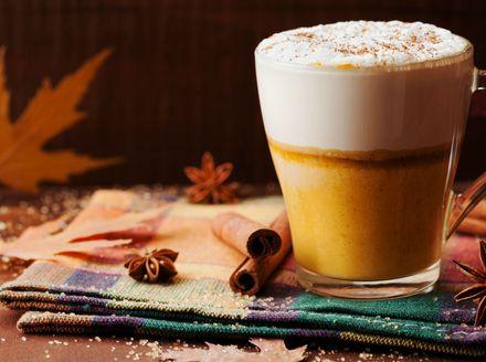 Kava sa začinom za pite od bundeva