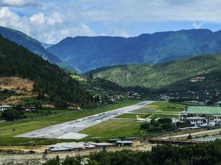 Zračna luka Paro u Butanu - 2