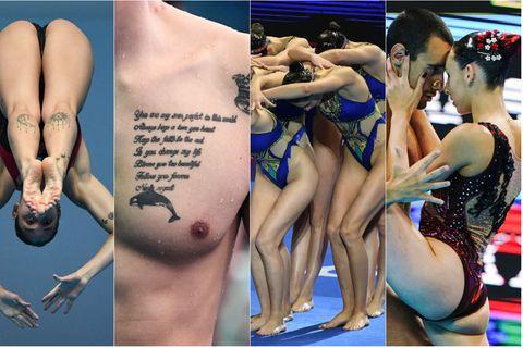 Detalji sa Svjetskog prvenstva u plivanju (Foto: AFP)