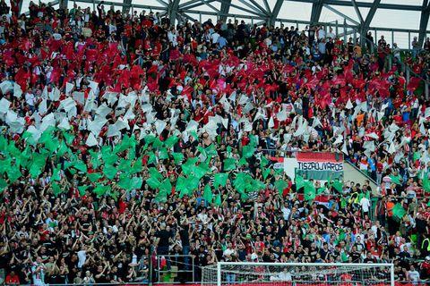 Mađarski navijači (Foto: AFP)