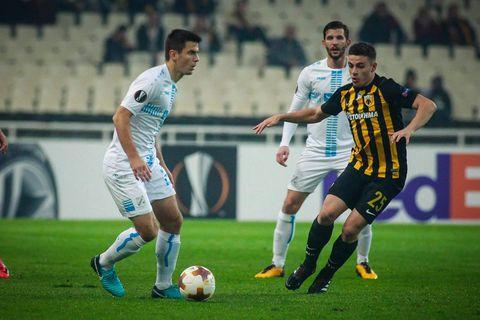 AEK - Rijeka (Foto: ActionSport/PIXSELL)