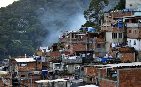 Stanovnici favela su vrlo siromašni