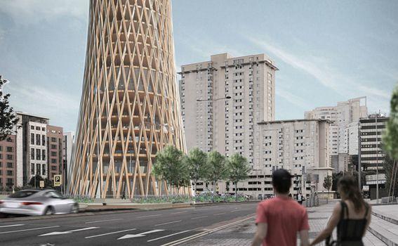 Sklopivi neboder trebao bi se moći postaviti na bilo kojem mjestu na svijetu