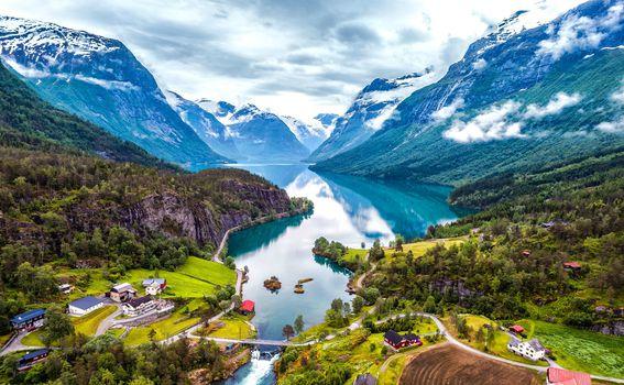 Predivna norveška priroda