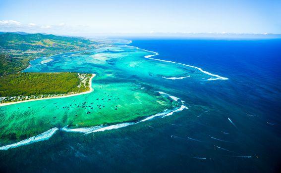 Podvodni vodopad, Mauricijus - 1