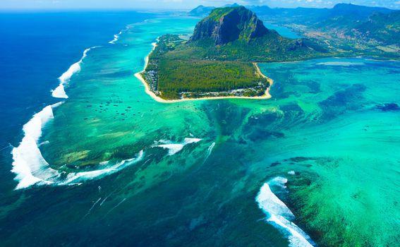 Podvodni vodopad, Mauricijus - 3